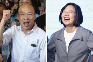 綠:南部拚哪個縣市蔡贏最多 藍:韓特質不容小覷