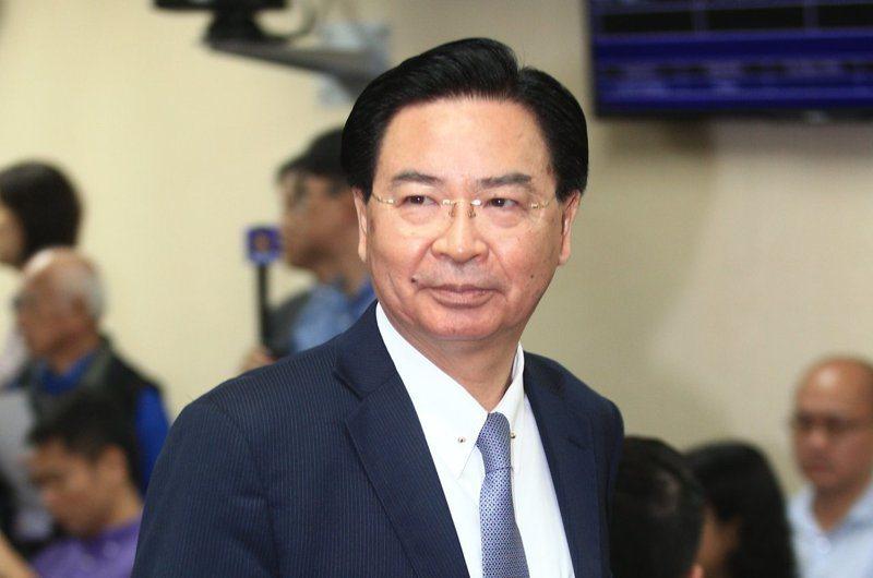 外交部長吳釗燮。 聯合報系資料照/記者陳正興攝影
