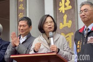 藍營估「卡神案」韓國瑜升8% 蔡英文:不是不信民調?