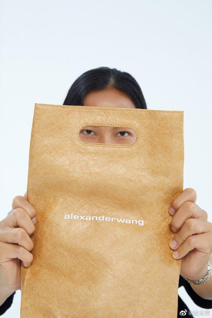 大陸麥當勞釋出超強的alexanderwang聯名系列。圖/取自微博
