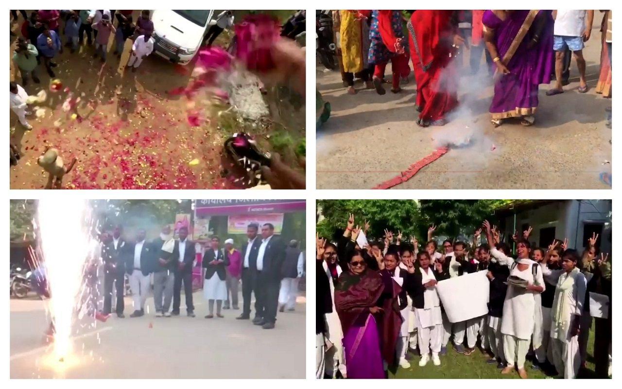 印度泰倫迦納邦海德拉巴日前一名女獸醫遭集體性侵殺害,遺體更慘遭焚燒滅證,被捕的4...