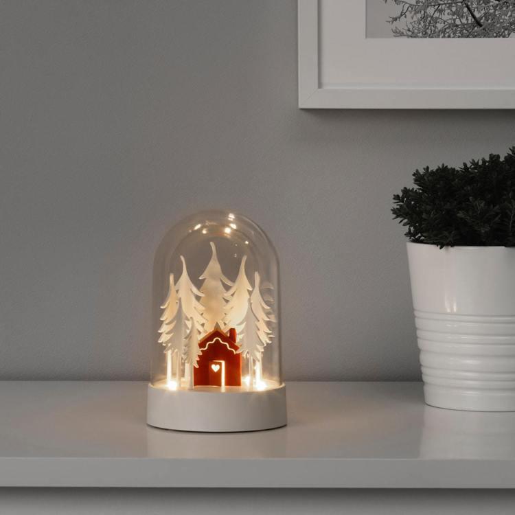 IKEA STRÅLA LED裝飾桌燈,售價629元。圖/IKEA提供