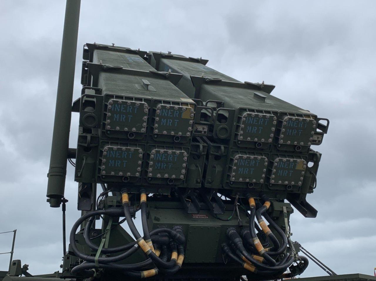 愛國者三型飛彈。本報系資料庫
