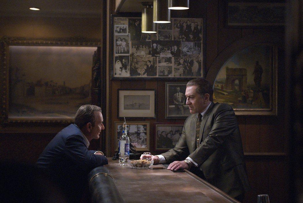 「愛爾蘭人」被看好將在金球獎入圍名單上大有斬獲。圖/摘自Netflix