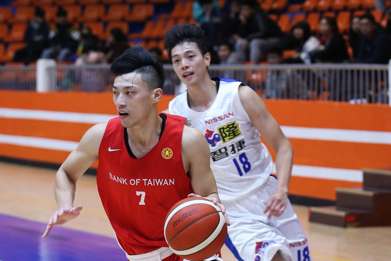 台銀隊菜鳥張家禾。圖/中華籃球協會提供