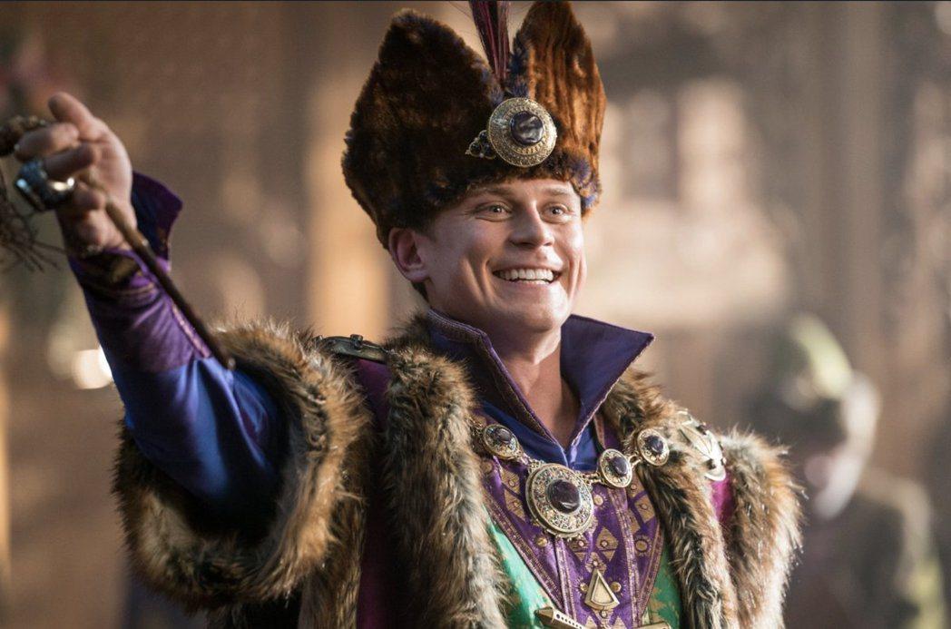 比利马努森在「阿拉丁」扮演的超小配角安德斯王子,将有自己的独立影片。 图/摘自im...