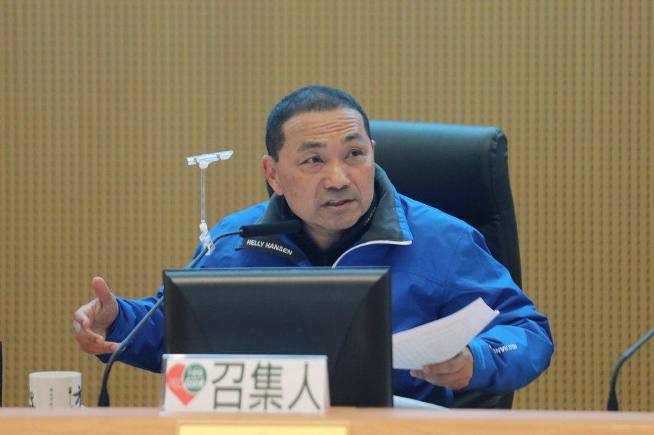 新北市長侯友宜未接韓國瑜新北競總主委,引起關注。圖/聯合報系資料照片