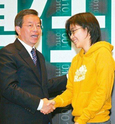 「卡神」楊蕙如(右)。 圖/聯合報系資料照片