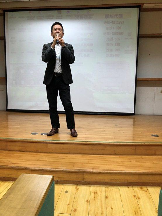 大樹連銷藥局總經理鄭明龍。 台灣長照醫學會/提供
