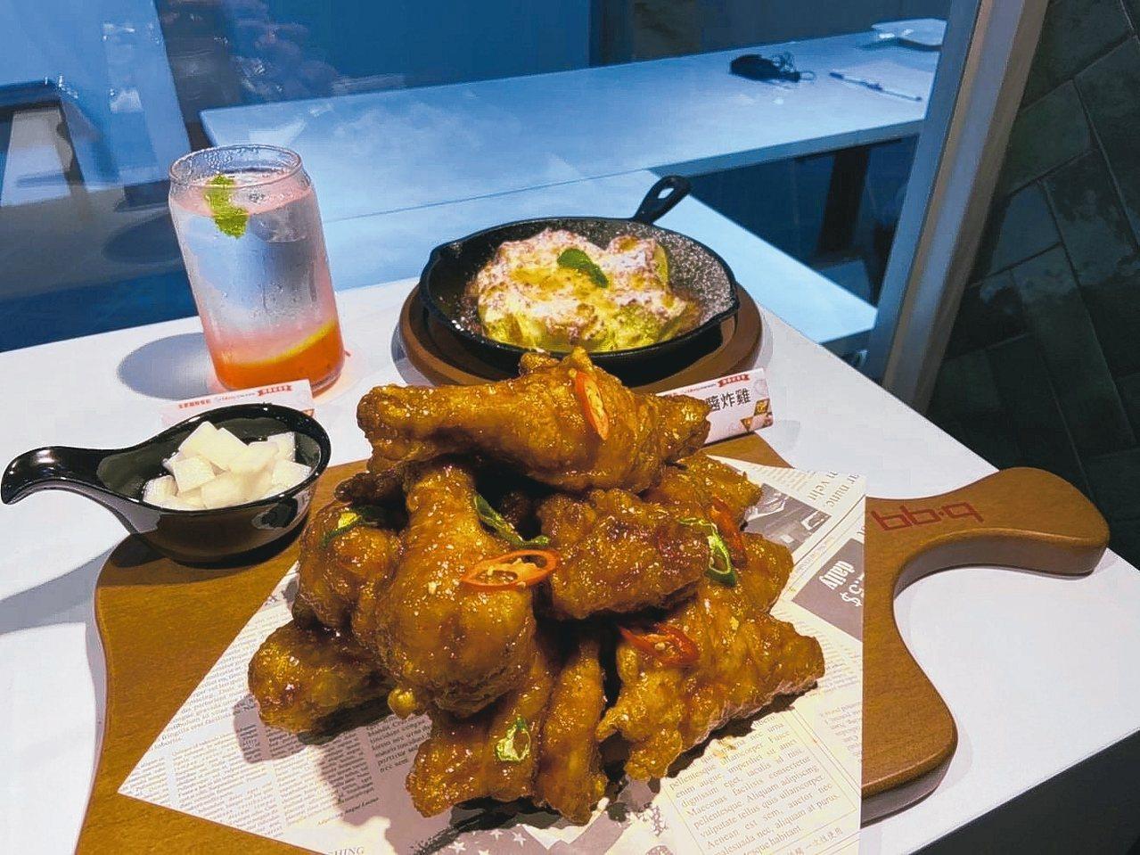 韓式甘醬炸雞。 圖/全家國際餐飲提供