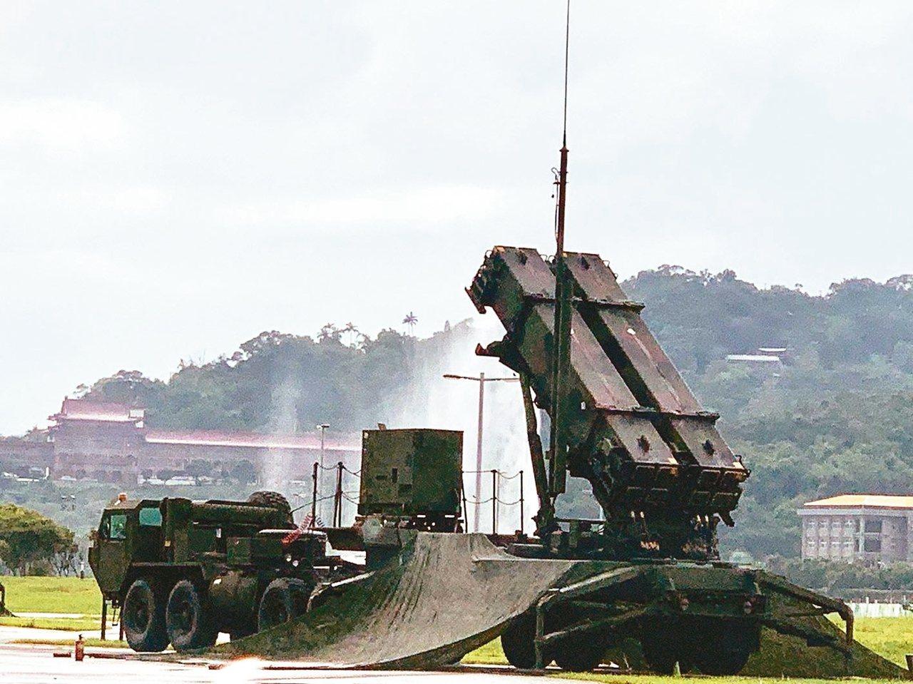 愛國者三型防空飛彈。 圖/聯合報系資料照片