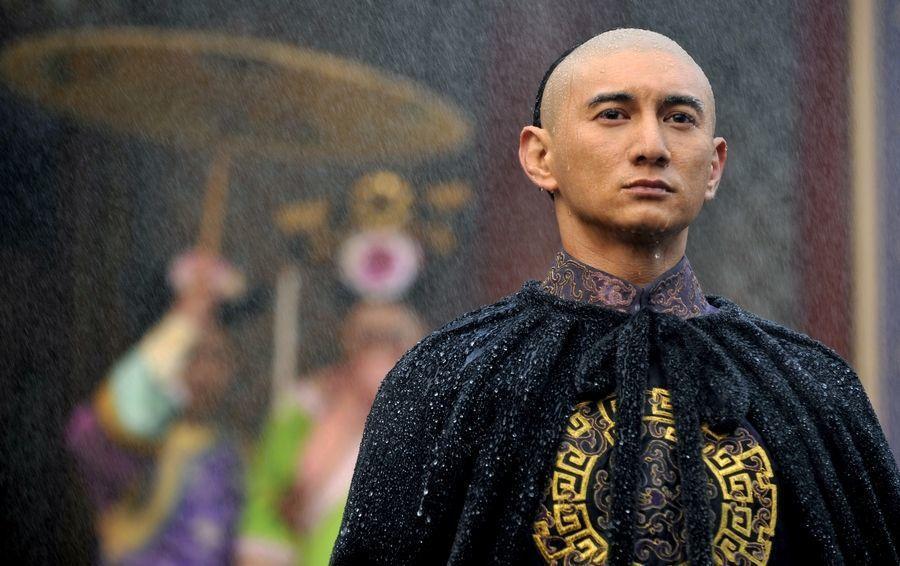 吳奇隆在《步步驚心》飾演雍正皇帝。 圖/唐人電影提供