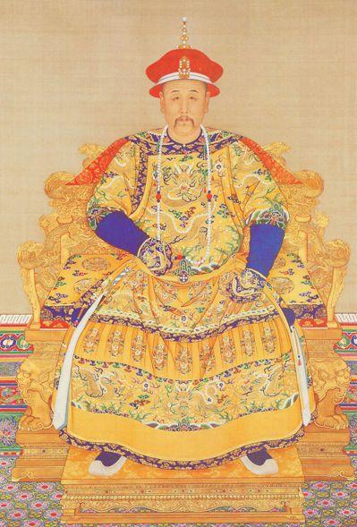 雍正堪稱為是中國歷史上被黑最慘的皇帝。圖為北京故宮典藏的「雍正帝朝服像」。 圖/...