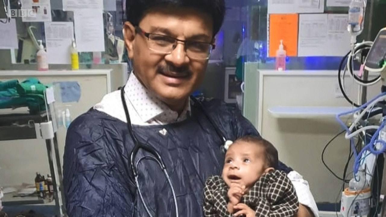 兒科醫生Ravi Khanna稱女嬰已恢復健康,若其父母在強制性等待期沒前認回女...