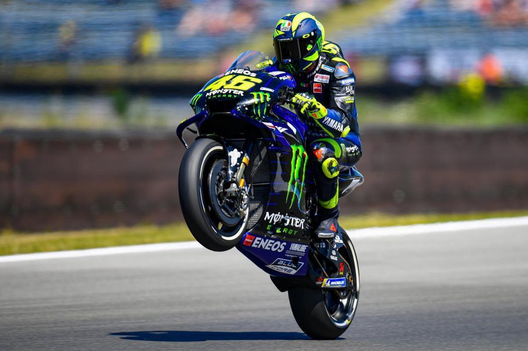 Valentino Rossi。 摘自MotoGP