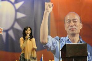 影/李佳芬代夫訪美 籲僑胞支持國民黨不分區