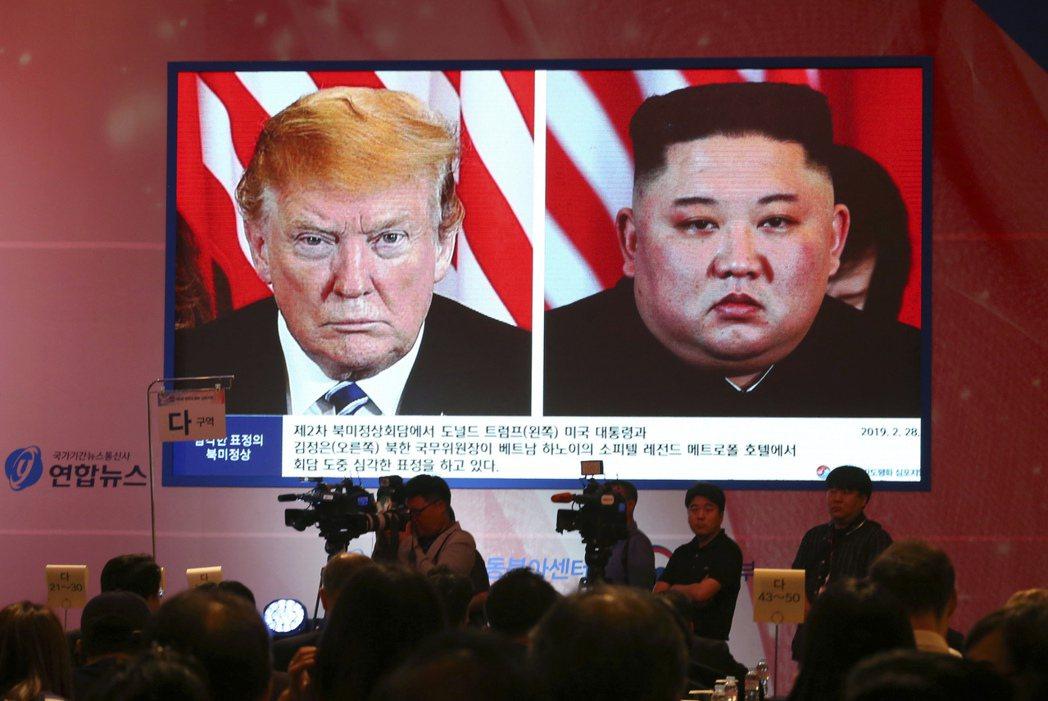 美國與北韓關係又緊張。美國總統川普7日表示,他不認為北韓會採取敵對行動,干涉美國...
