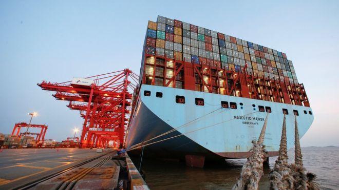中國大陸11月出口遜預期,進口勝預期。路透