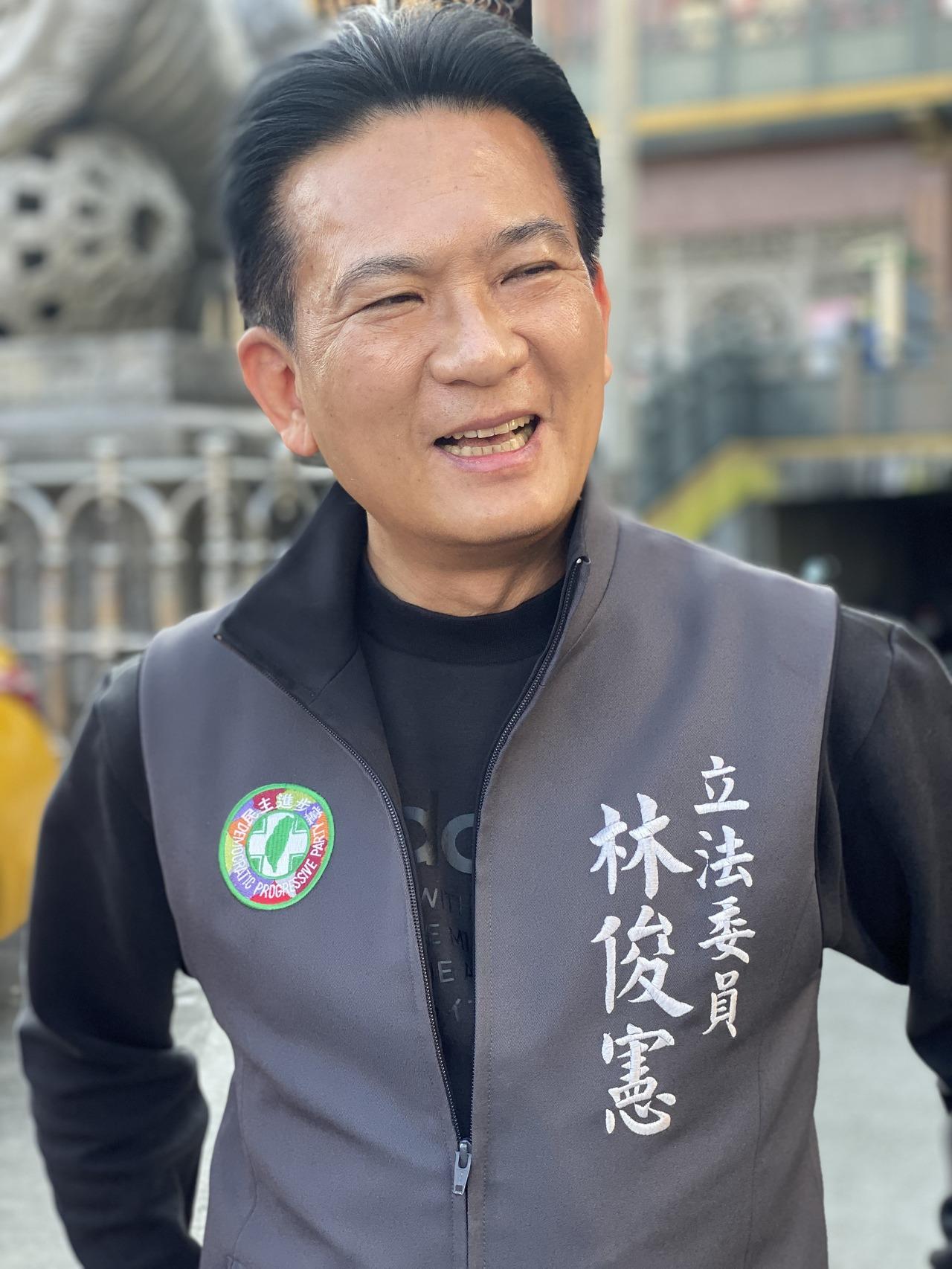 民進黨立委林俊崽。記者修瑞瑩/攝影