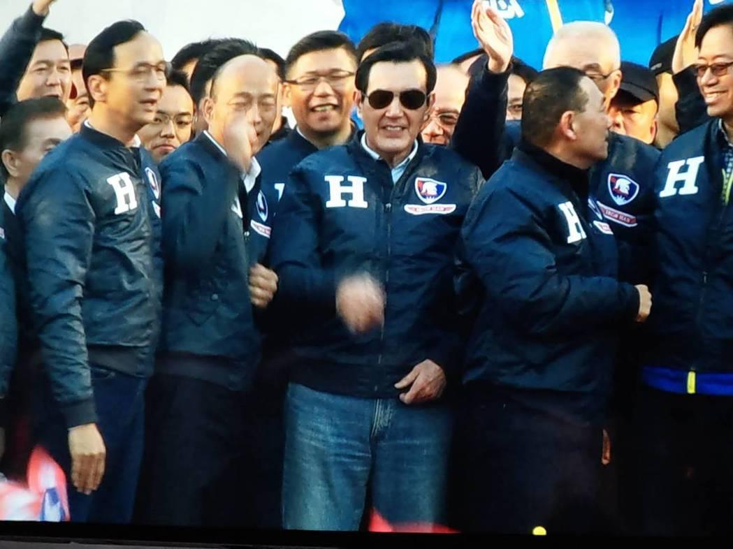 國民黨總統候選人韓國瑜宣布朱立倫接全國競選總部主委 。記者劉宛琳/攝影