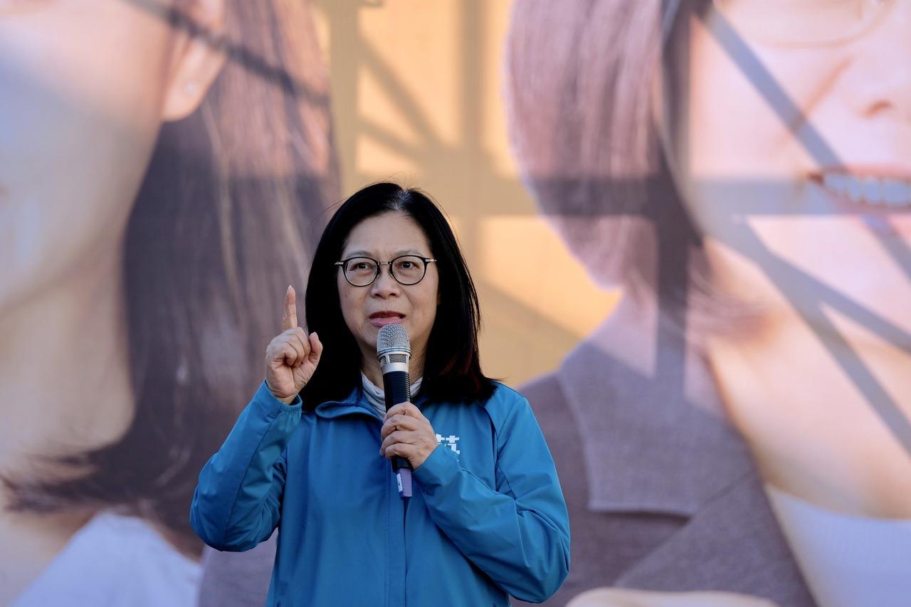管碧玲為洪慈庸抱不平 「謠言很可怕」 | 聯合新聞網