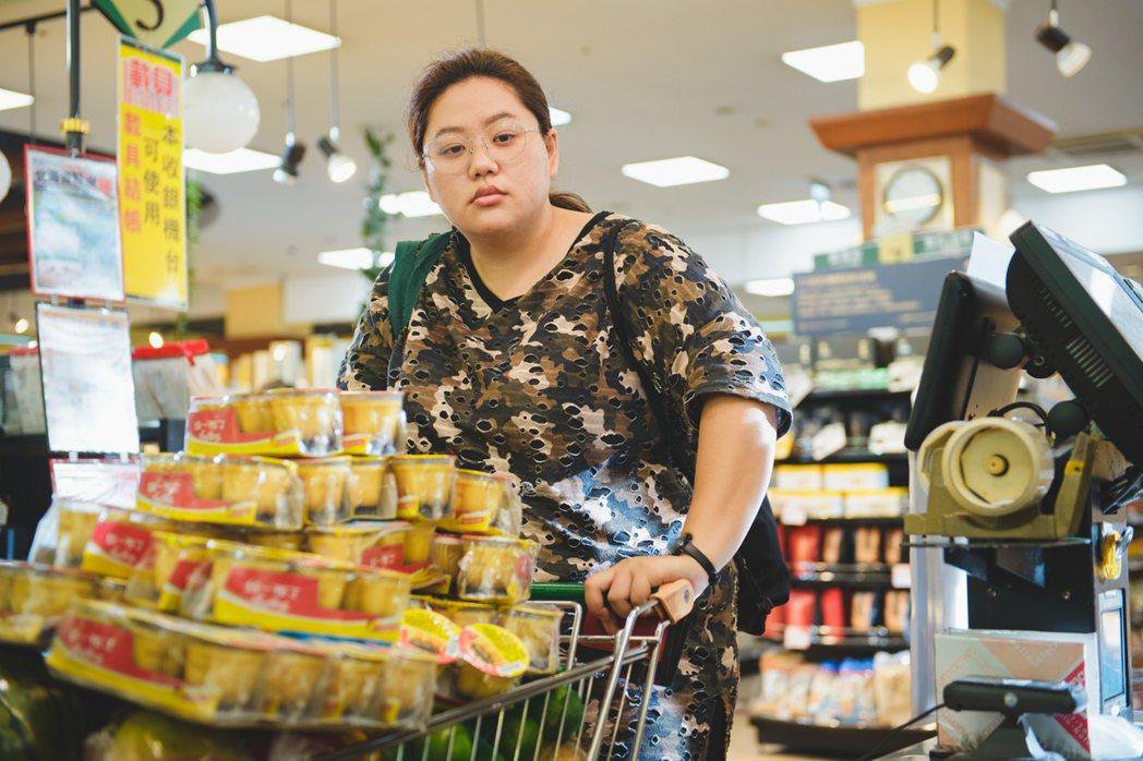 蔡嘉茵因主演「大餓」展露頭角。圖/一晌電影提供