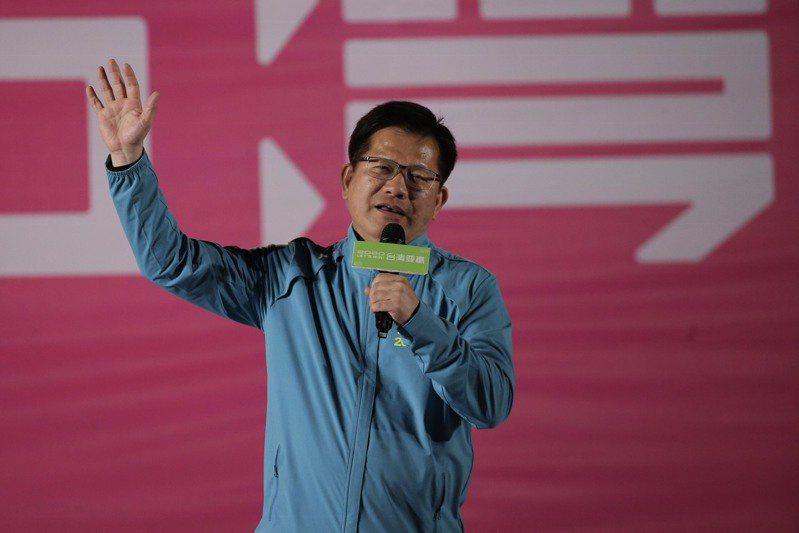 交通部長林佳龍。聯合報系記者黃仲裕/攝影