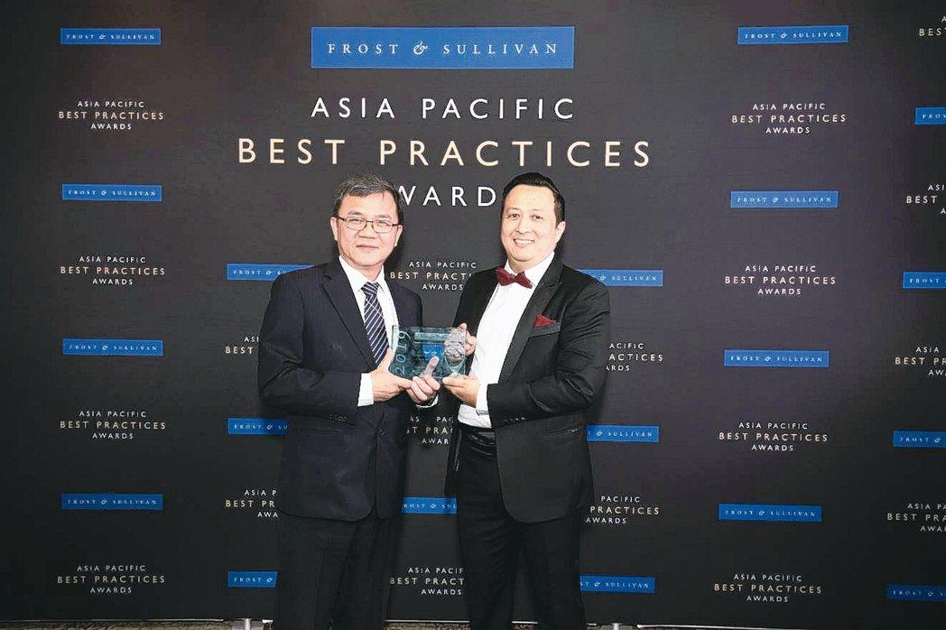 中華電信首獲Frost & Sullivan頒發亞太新興市場最佳電信業者獎,中華...