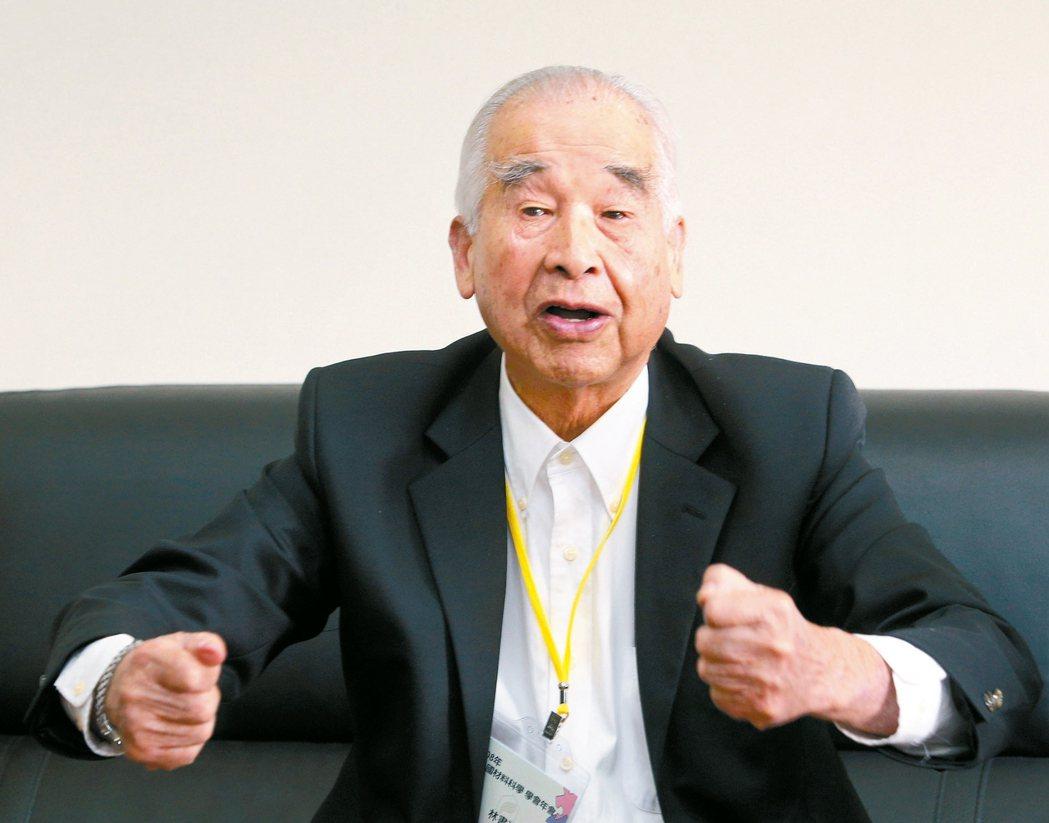 長春集團總裁林書鴻 記者劉學聖/攝影