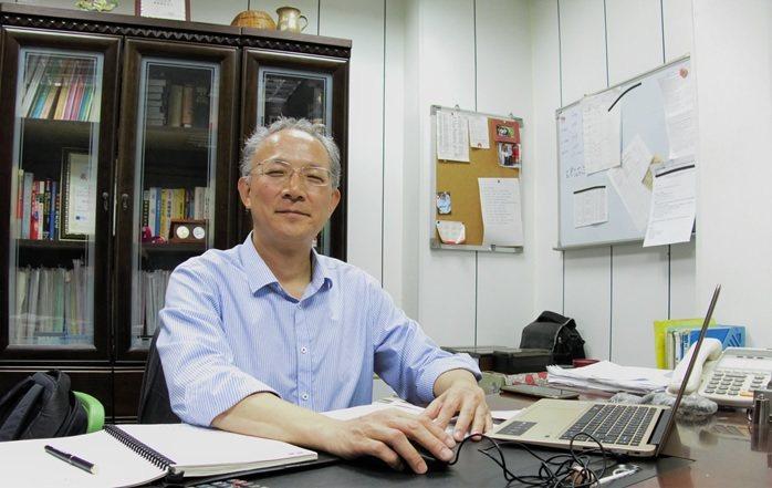 鑫強先進機械總經理沈揮凱。 楊連基/攝影