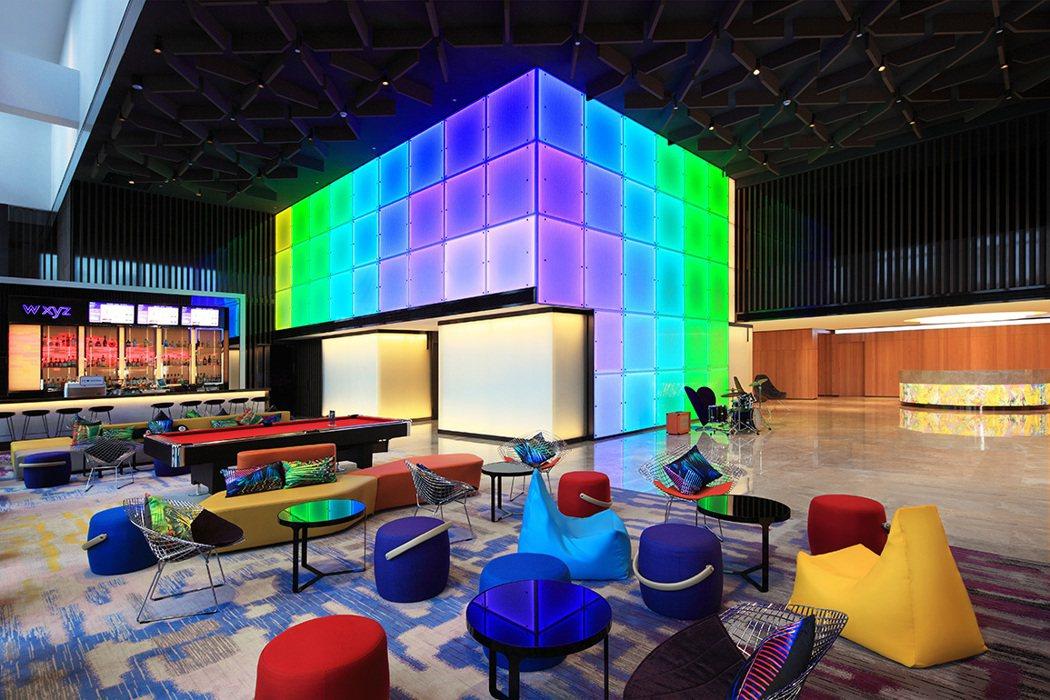 台北北投雅樂軒Remix Lounge。台北北投雅樂軒酒店/提供