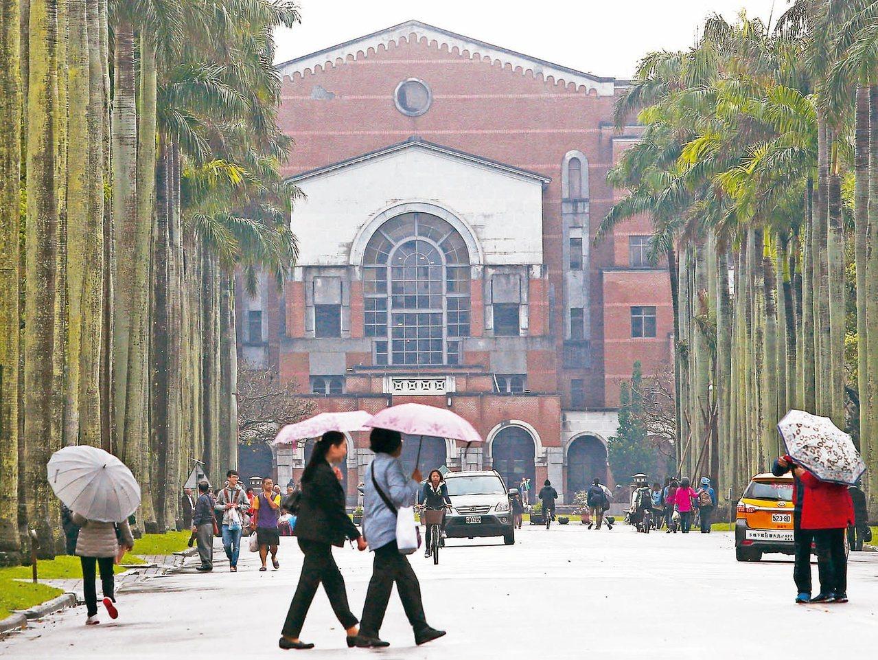 台灣大學延攬師資,從被動防禦轉為主動出擊。 圖/聯合報系資料照片