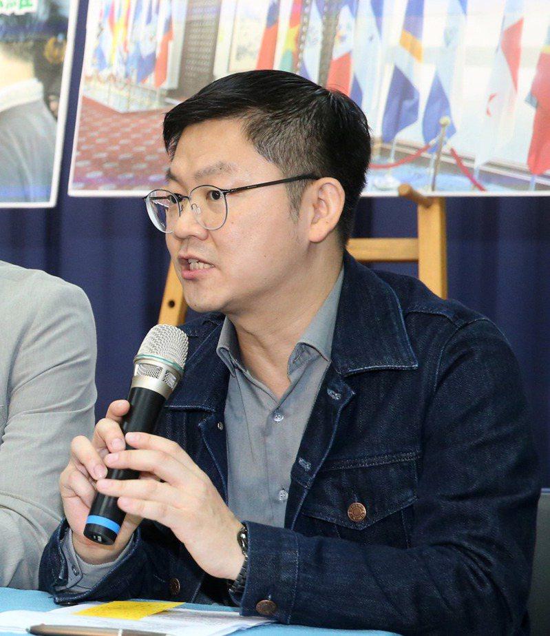 國民黨副發言人黃心華。 聯合報系資料照/記者胡經周攝影