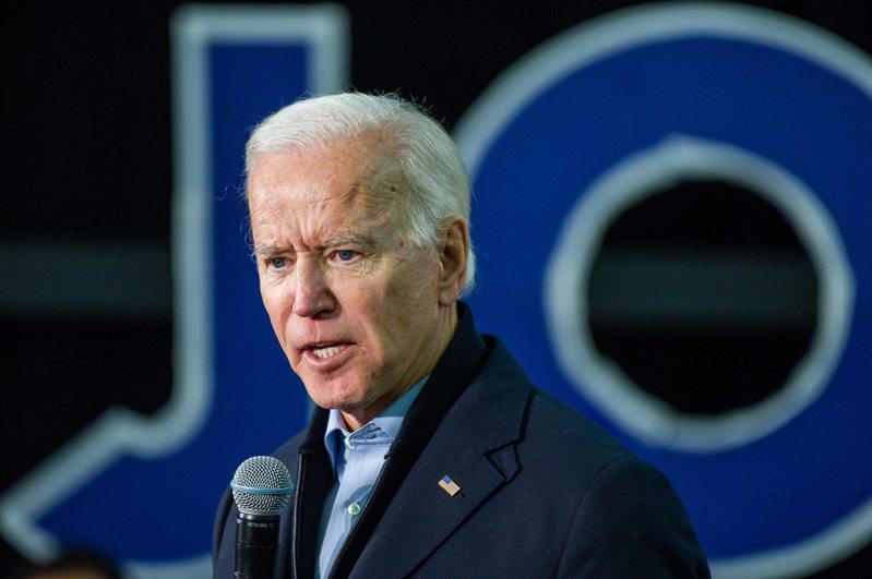 角逐美國總統大位的民主黨參選人拜登(Joe Biden)。 歐新社