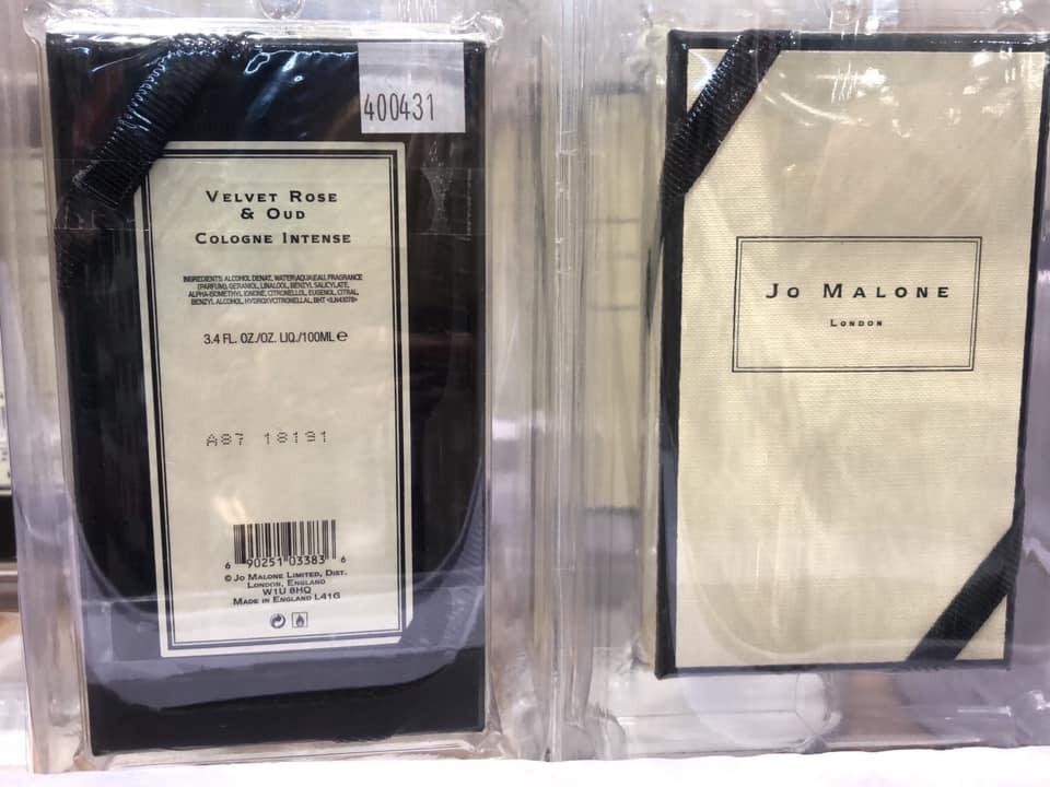 JO MALONE絲絨玫瑰與烏木芳醇古龍水100ml只要台幣3699元。圖擷自f...