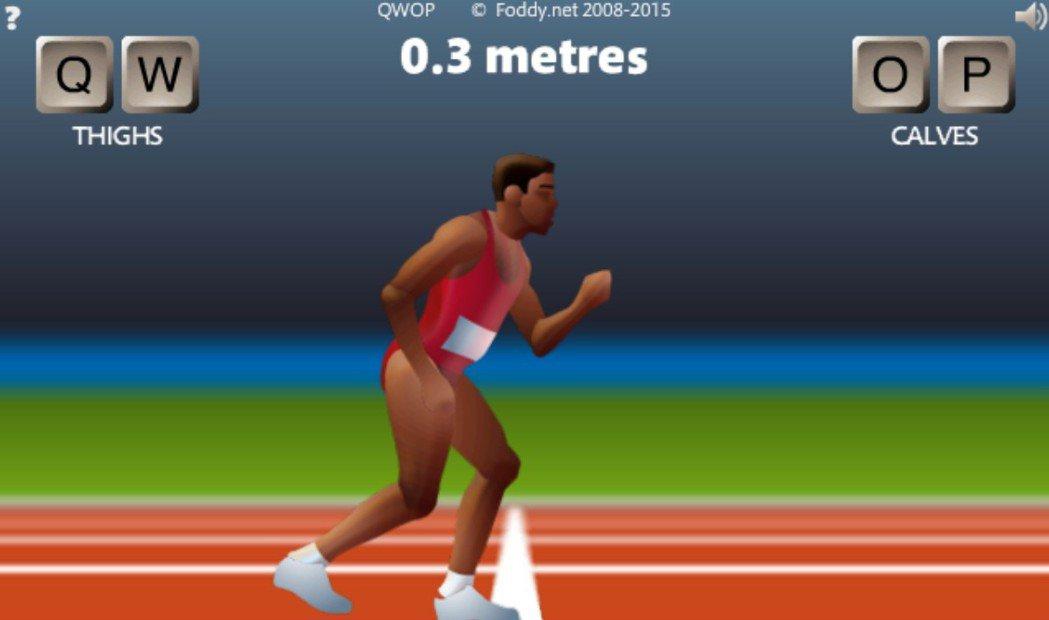 《QWOP》遊戲畫面