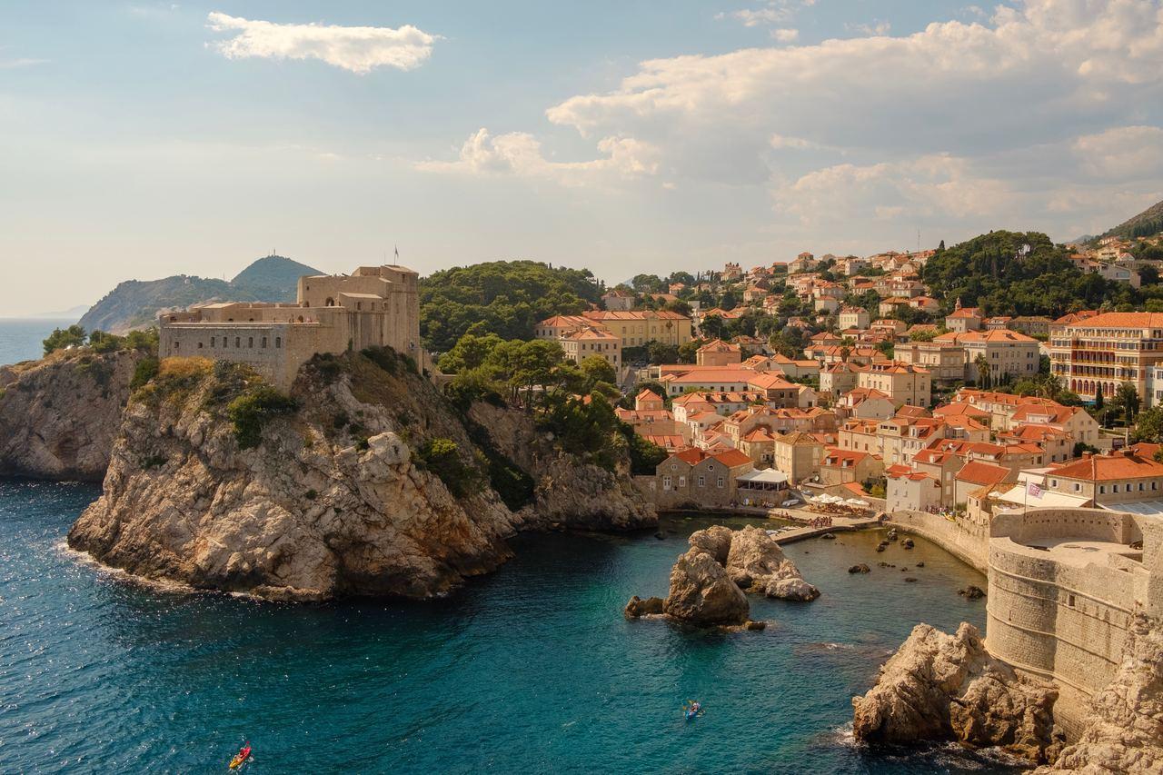 克羅埃西亞俯瞰地形圖。(圖/Unsplash)