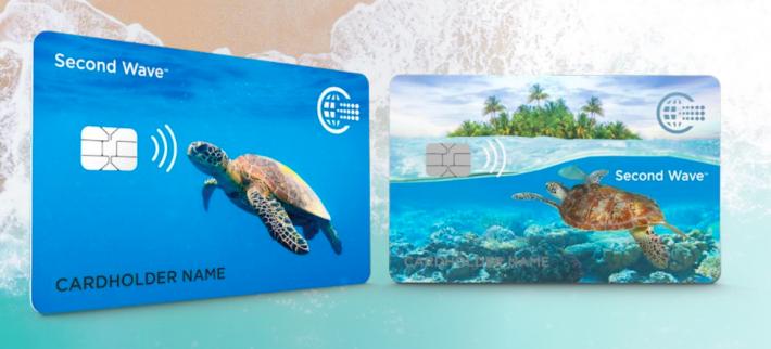 CPI Card Group 推出新型支付卡片「Second Wave」。 圖/...