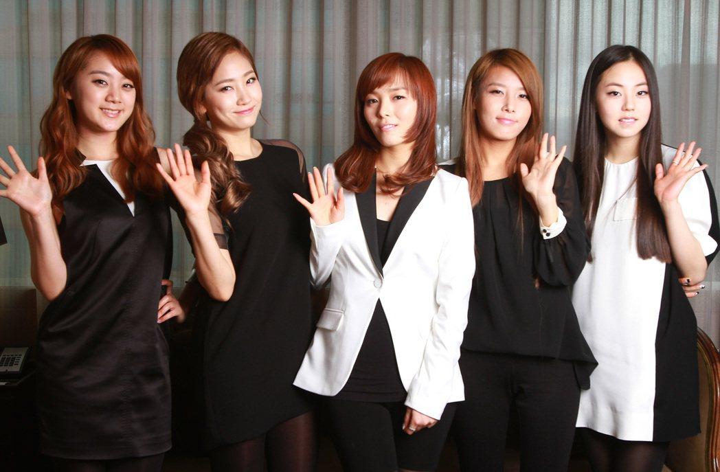 Wonder Girls。 图/报系资料照(记者徐兆玄/摄影)