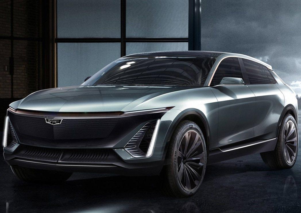 Cadillac-EV_Concept。 摘自Cadillac