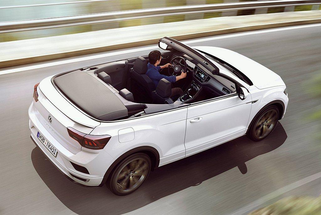 福斯T-Roc Cabriolet敞篷休旅車,不僅是以T-Roc為基礎打造,售價...
