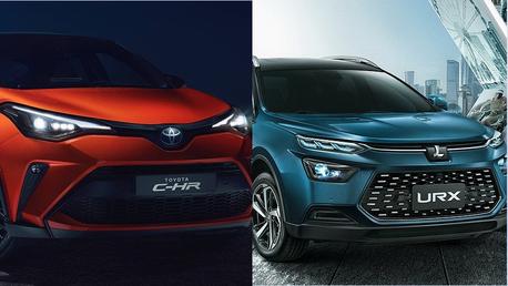 年終新車發表一波接一波 LUXGEN URX & TOYOTA C-HR小改款下周登場