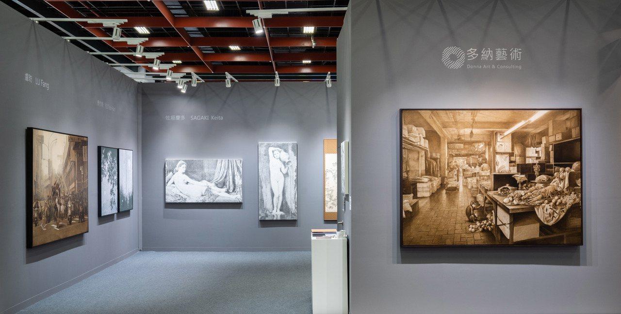 多納藝術於今年台北藝博會上帶來精彩作品