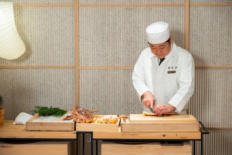 月夜岩日籍料理長福島隆史先生。
