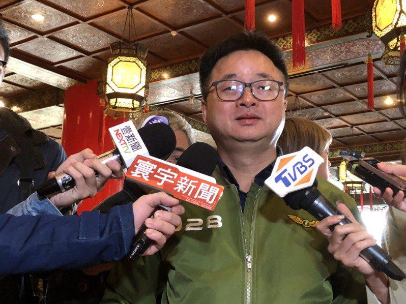 民進黨秘書長羅文嘉說黃昭順比較壞。記者賴于榛/攝影