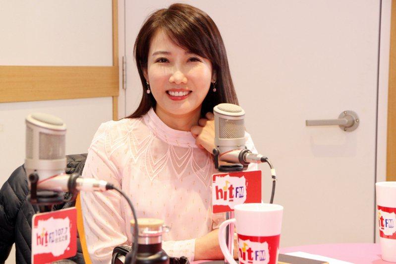 親民黨不分區被提名人、郭辦發言人蔡沁瑜。圖/「Hit Fm《周玉蔻嗆新聞》製作單位提供」。