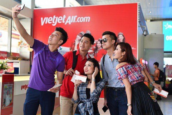 越捷航空明年會開航多條新航線,旅客前往不同城市旅遊更加便利。圖/越捷航空提供