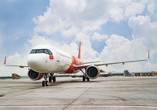 越捷航空推出百萬張0元優惠機票。圖/越捷航空提供