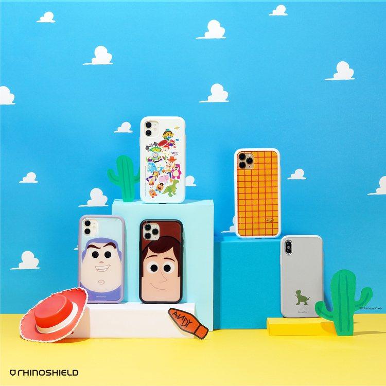 犀牛盾推出玩具總動員系列手機殼,包含Mod NX模組化手機殼、SolidSuit...