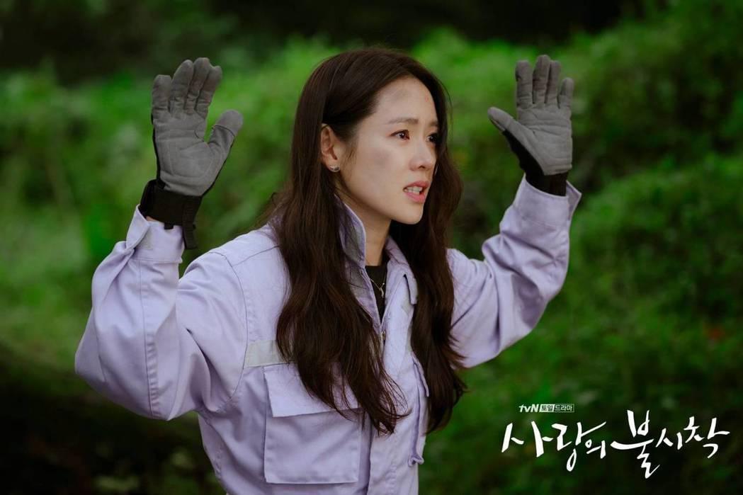 孫藝真意外迫降到北韓。圖/摘自tvN